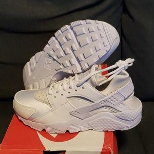 Nike Air Huarache Run white/white nwb